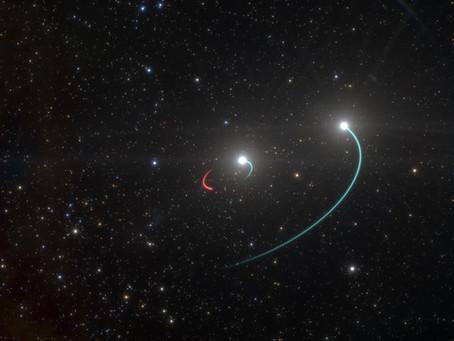 Découverte d'un trou noir à seulement 1 011 années-lumière de notre système solaire