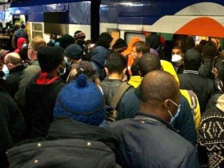 Déconfinement : des lignes du métro parisien déjà bondées ce lundi matin