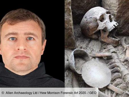 En Angleterre, le visage d'un prêtre du Moyen Age a été reconstitué près de 900 ans après sa mort