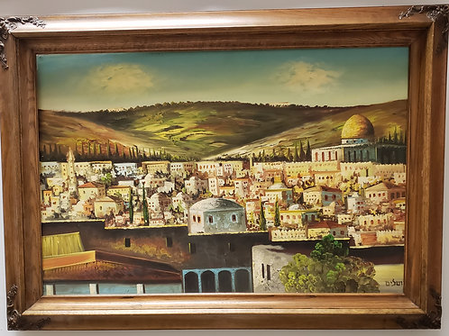 Painting of the Jerusalem Valley Gallery Item 1017