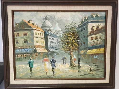 Impressionist downtown circa 1943 Gallery Item 1014