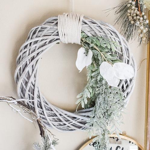 Seaside White Rope Wreath