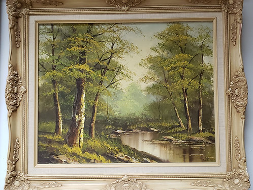 Woodland Painting Gallery Item 1010