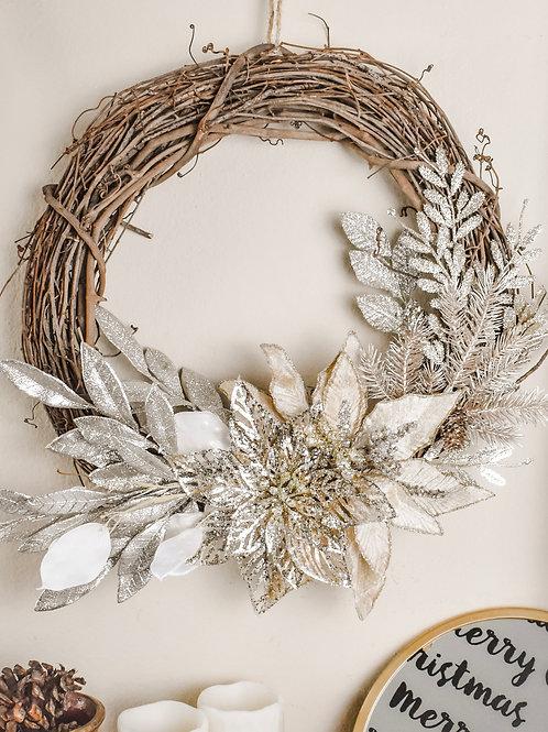 Gold Digger Wreath