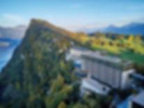 Buergenstock Resort Lake Lucerne Sommer.