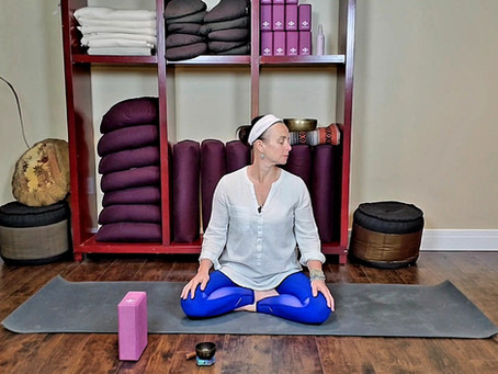 Yin Yoga to Transform Fear - Throat Chakra