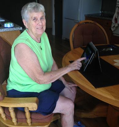 senior citizan women
