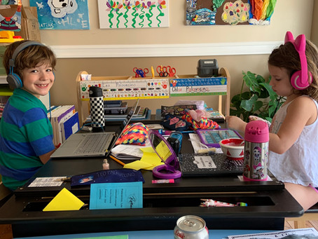 My Quarantine Diary: our learning space
