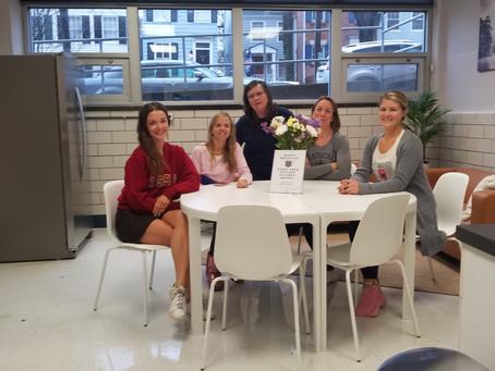 Teacher Lounge renovation