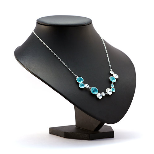 Turquoise Multi-Cone Necklace