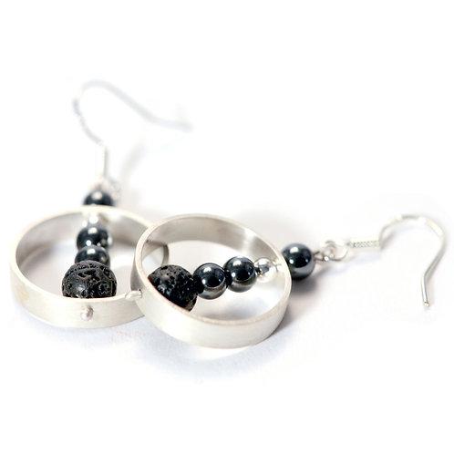 Organic Bead Earrings