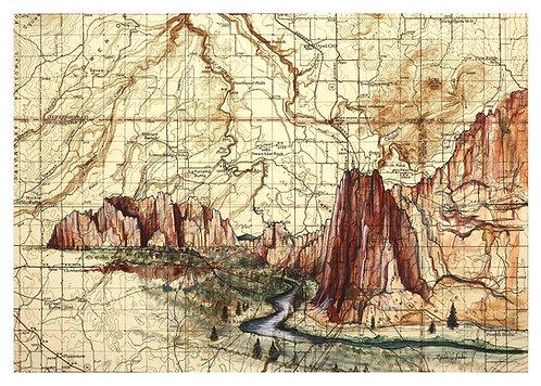 Smith Rock Print