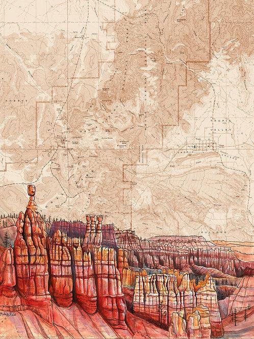 Bryce Canyon Original Painting