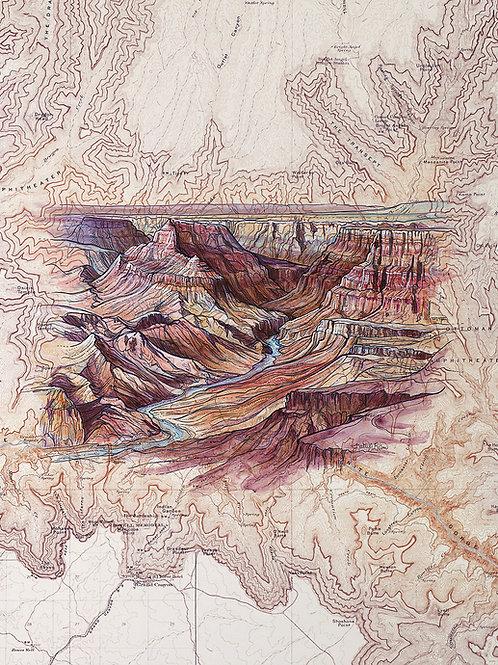 Grand Canyon Original Painting
