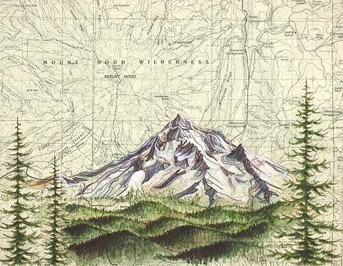 Mt Hood Wilderness Print