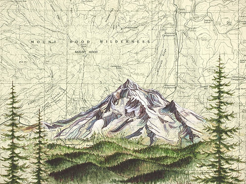 Mt Hood Wilderness Print