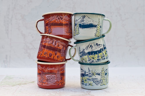 Fireproof Enamel Mugs