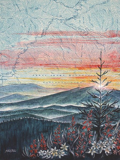 Great Smoky Mountains Original Painting