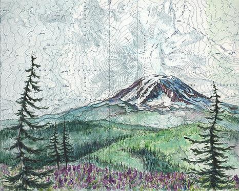 Mt Adams Print