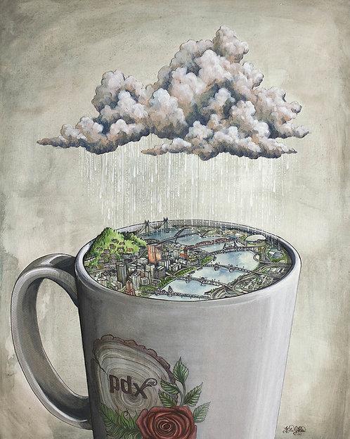 Coffee City Print