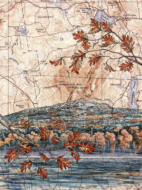 Mt. Monadnock Original Painting
