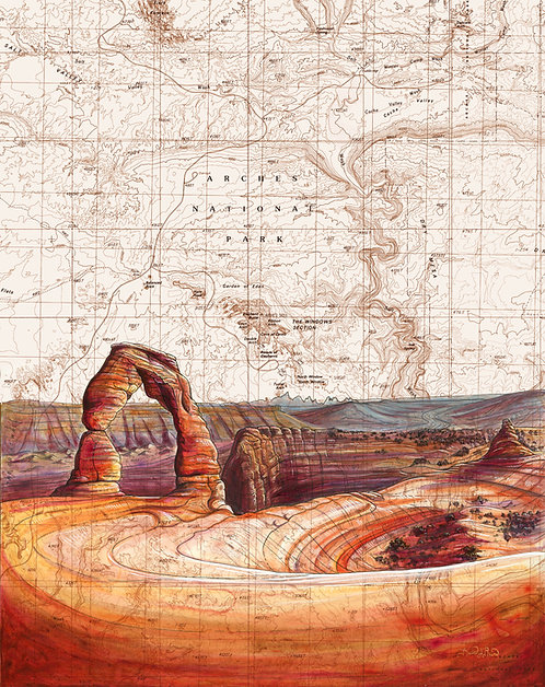 Delicate Arch, Arches NP Print