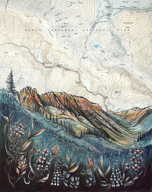 North Cascades Print