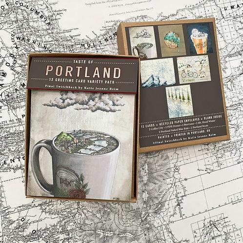 Taste of Portland, 12 Card Set