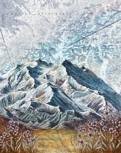 Denali Original Painting