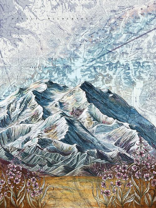 Denali National Park Print