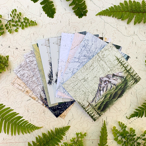 Individual Greeting Cards - Oregon