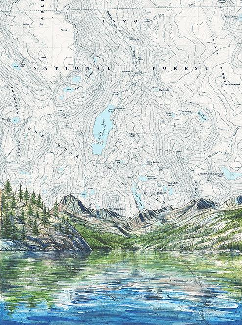 South Lake, Inyo NF print