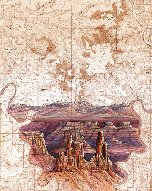 Canyonlands Original Painting