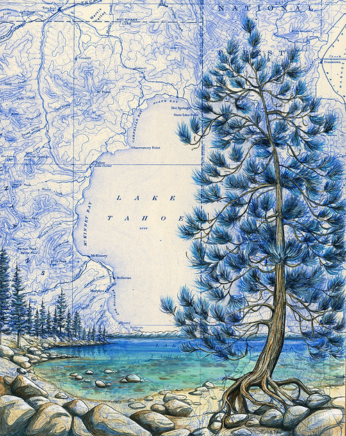Lake Tahoe Original Painting