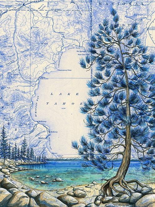 Lake Tahoe Print