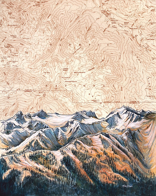 Hurricane Ridge Print
