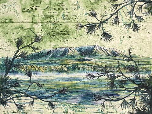Mt Katahdin Print