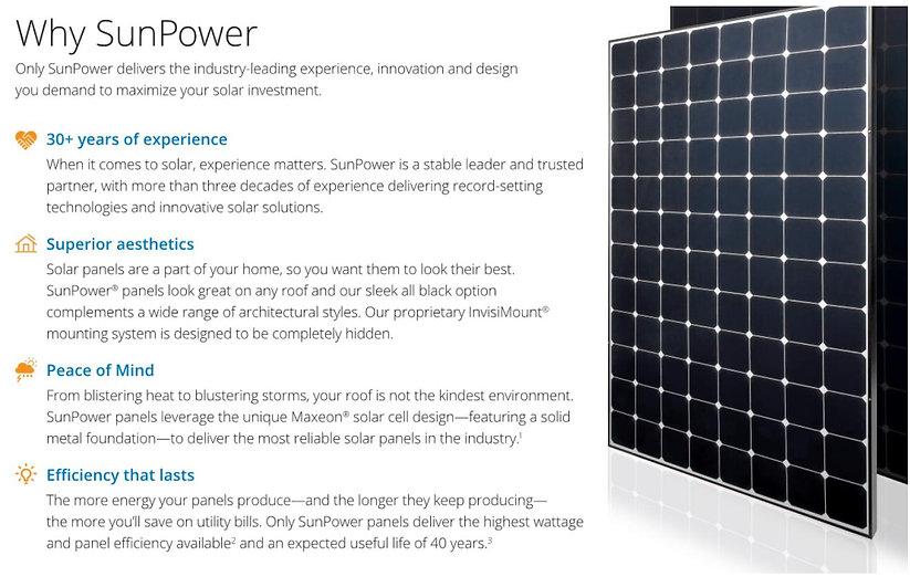 Why Sunpower