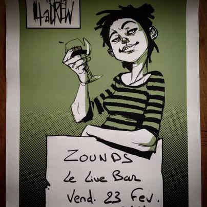 ZOUNDS au Live Bar !