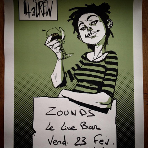 ZOUNDS au Live Bar !