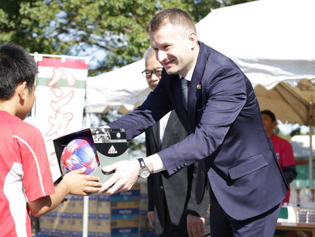 【お知らせ】ハンガリー大使館杯・サッカー大会を開催致しました。