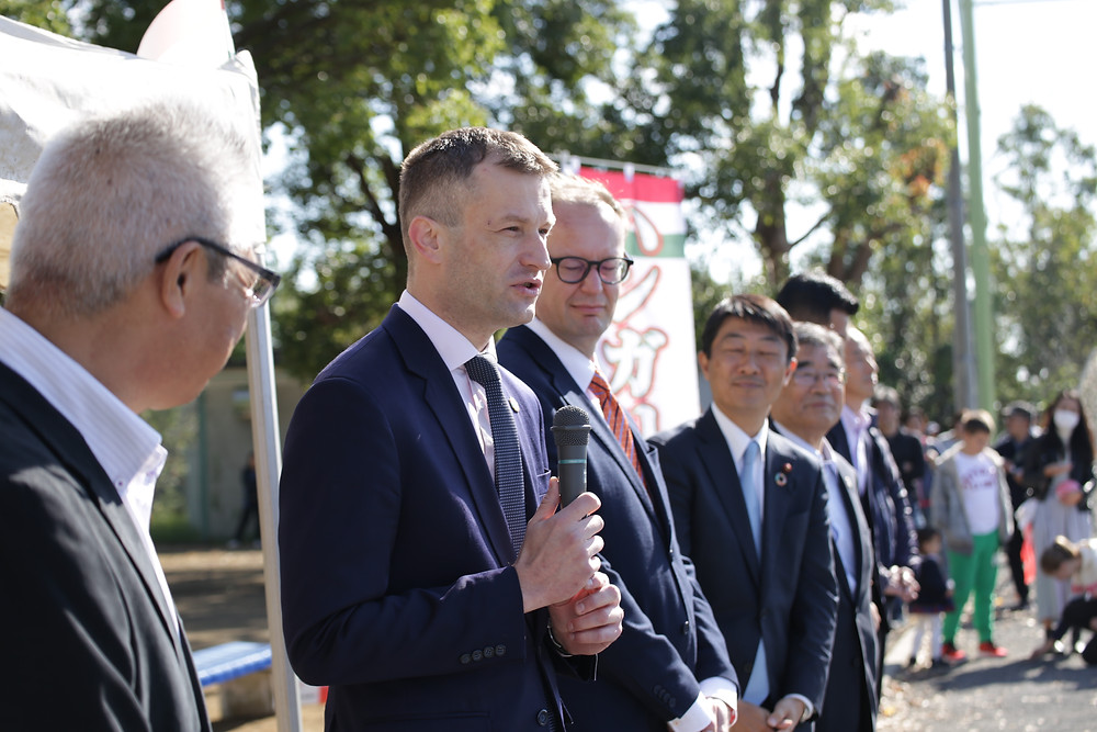 駐日ハンガリー国 特命全権大使 パラノビチ・ノルバート閣下