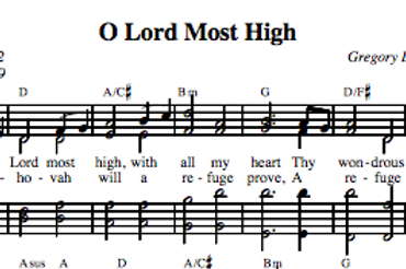 Psalm 9 | O Lord Most High