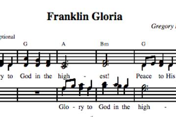 Franklin Gloria (4-part)