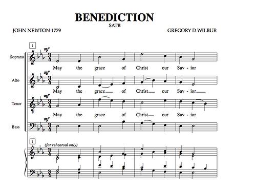Benediction (Choral)