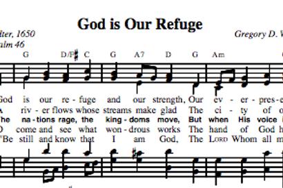 Psalm 46 | God Is Our Refuge (4-part)
