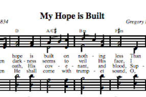 My Hope Is Built (4-part)