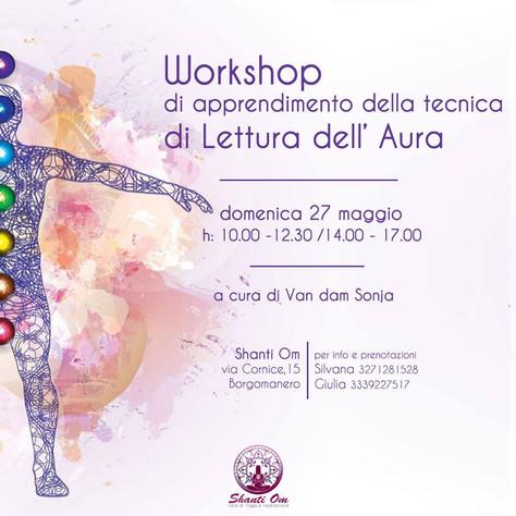 Domenica 27 maggio Workshop!