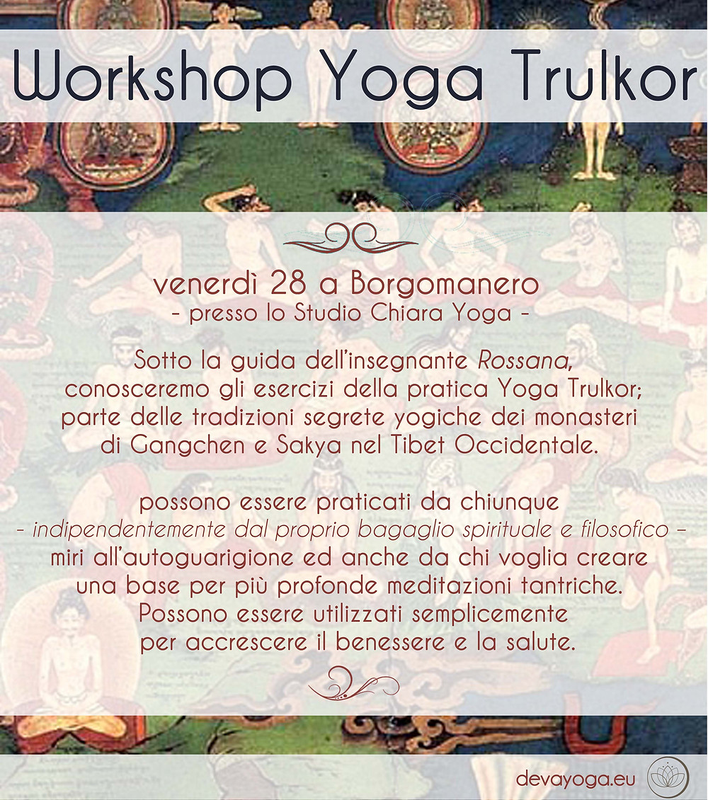 Yoga Trulkor - Devayoga Events