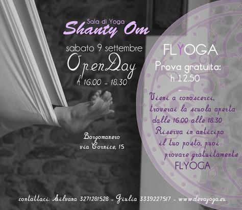 Open Day sala yoga Shanty Om, Borgomanero